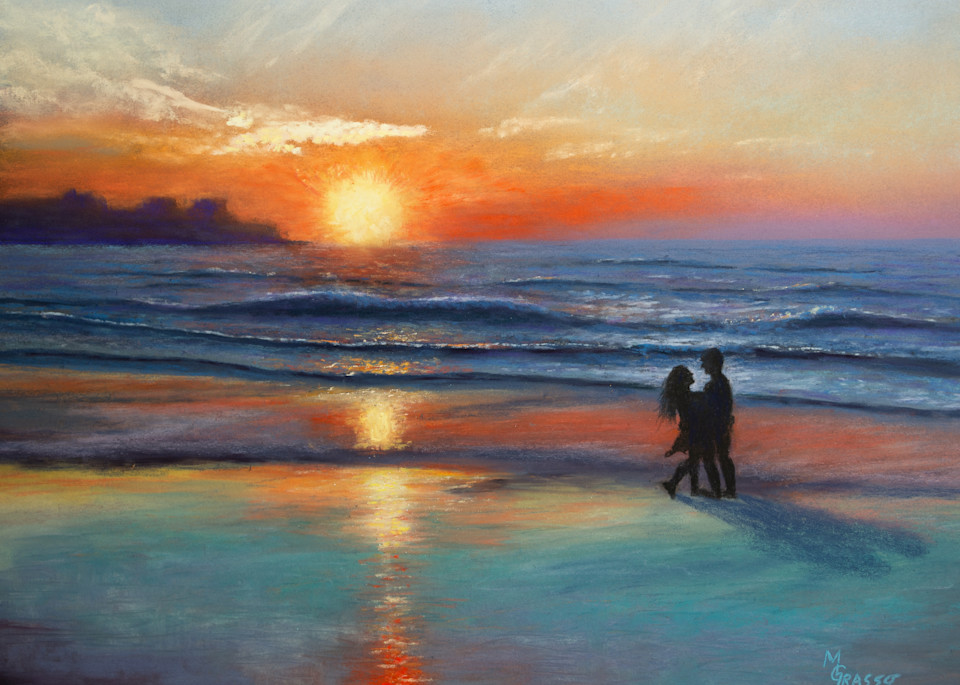 Hampton Beach Sunrise Art | Mark Grasso Fine Art