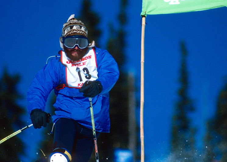 Telemark Slalom, Jeff Demeester