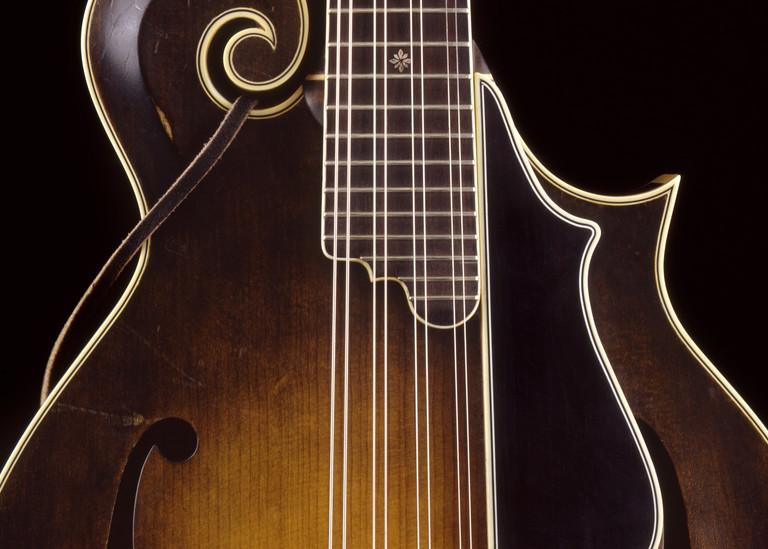 Dave Peter's Mandolin Photography Art | Rick Gardner Photography