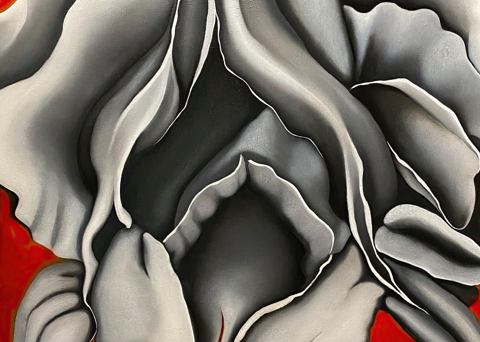 Iris No. 2, 2020 by artist Carolyn A. Beegan