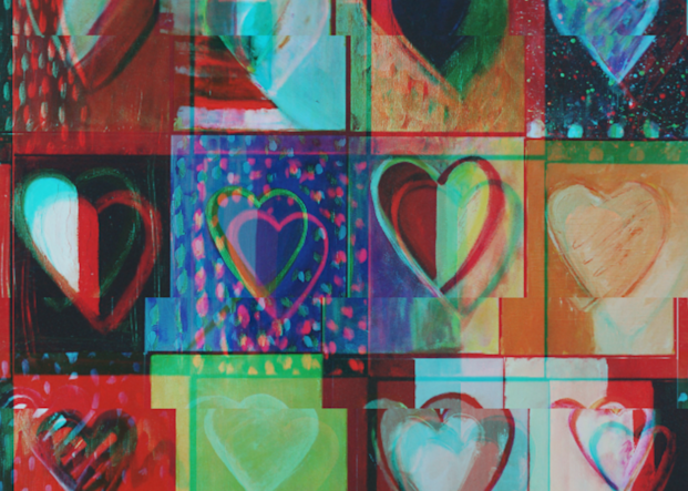 Piece Of My Heart: Psychedelic Art | All Together Art, Inc Jane Runyeon Works of Art
