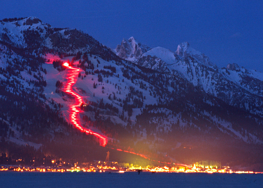 Torchlight Parade, Jackson Hole