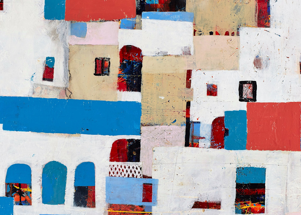 From Mykonos With Love Art | Wanderlust in ART