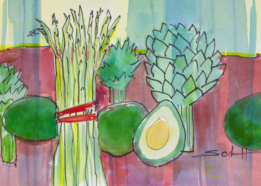 Produce Art | Elaine Schaefer Hudson Art