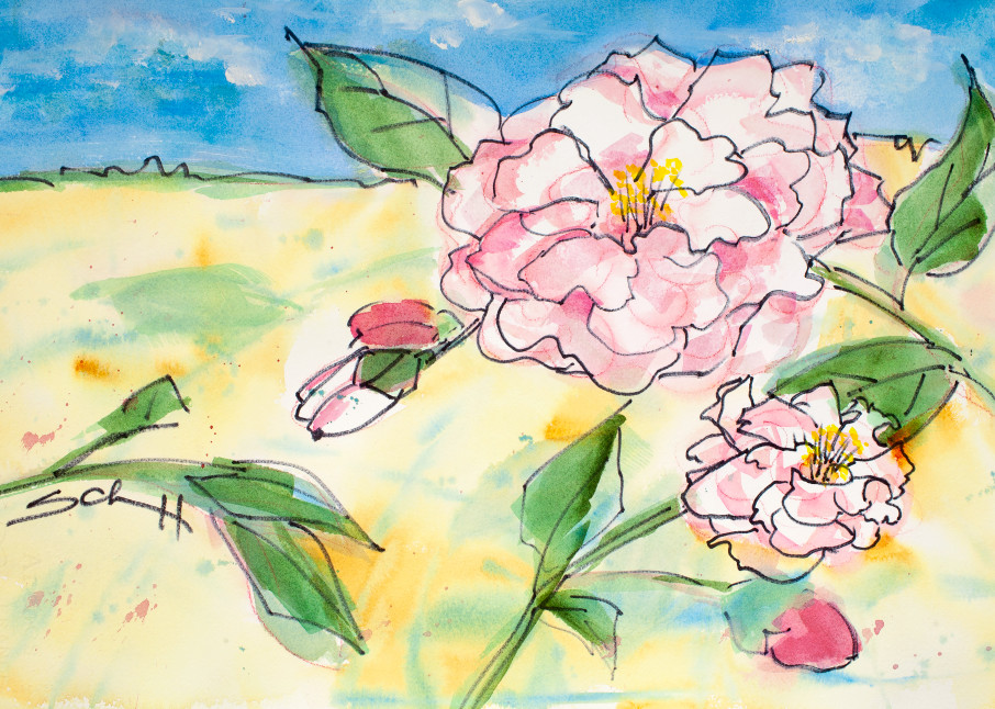 #7 Sweet Pinks Art | Elaine Schaefer Hudson Art