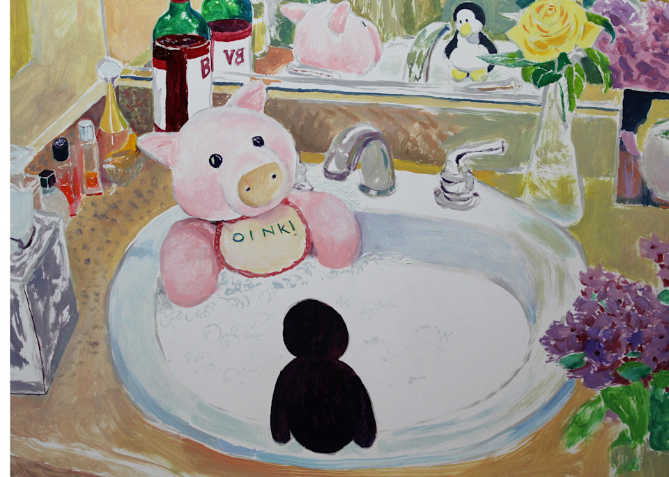 Perky And Sarge Jacuzzi  Art   Not specified