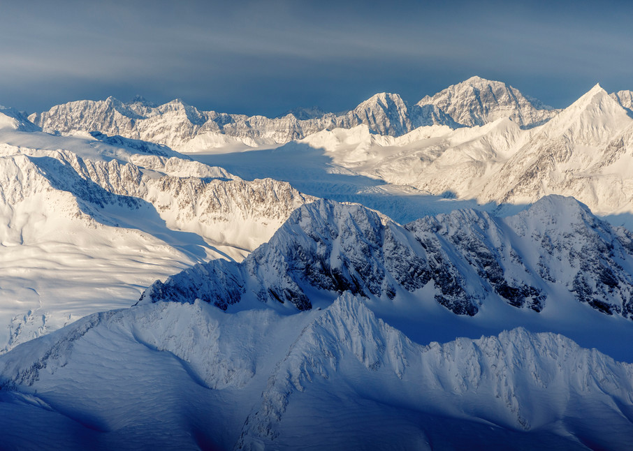 David Young Private Photo Tour/Workshop.  Winter, January Alaska  --- Knik Glacier, Chugach Mountains, Prince William Sound  Photo by Jeff Schultz/SchultzPhoto.com  (C) 2017  ALL RIGHTS RESERVED
