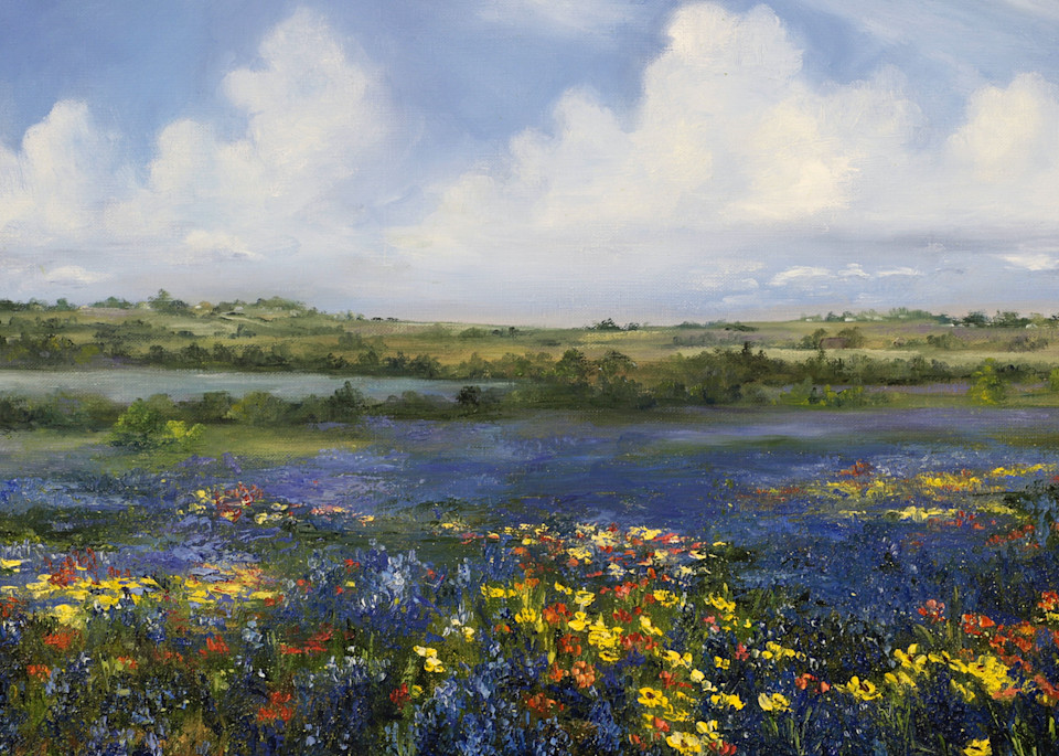 Texas Spring Art | Marsha Clements Art