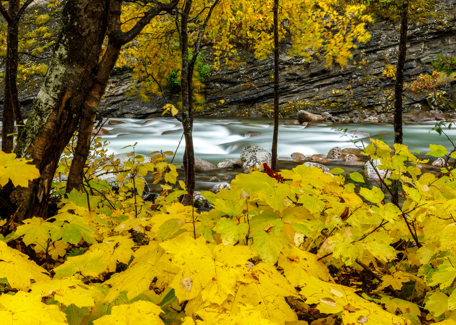 Fall Landscape of Little Susitna River in Hatcher Pass area. Southcentral, Alaska   Fall - Autumn  Photo by Jeff Schultz/  (C) 2020  ALL RIGHTS RESERVED