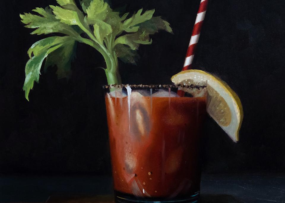 Bloody Mary Art | Romanova Art