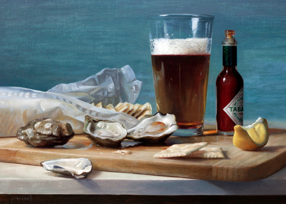 Wellfleets And Ale Art | Romanova Art