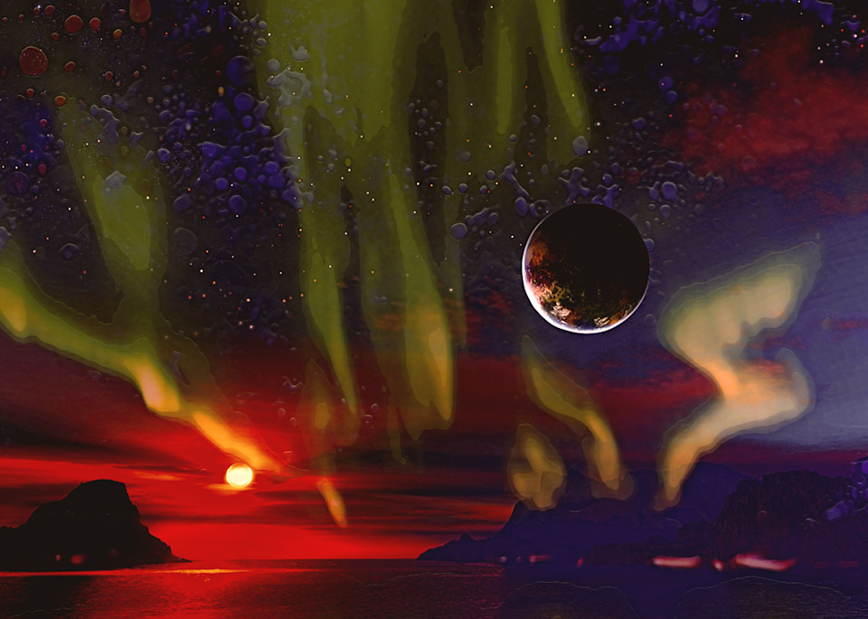 Aurora Planet Art | Don White-Art Dreamer
