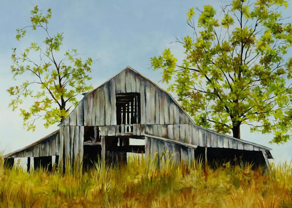 Grandpa's Barn Art   Marsha Clements Art