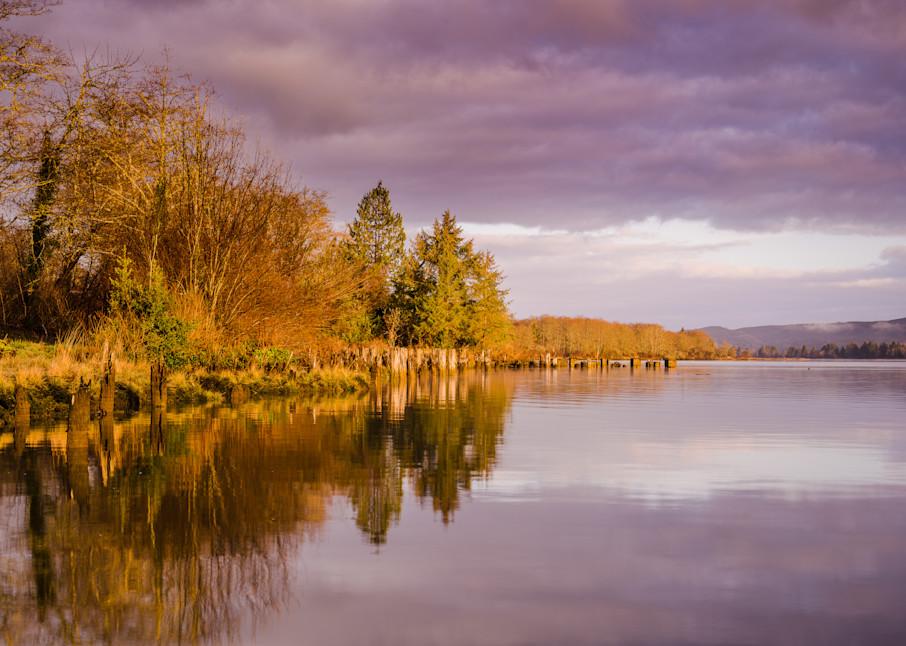Winter Morning, Willapa River, Washington, 2021
