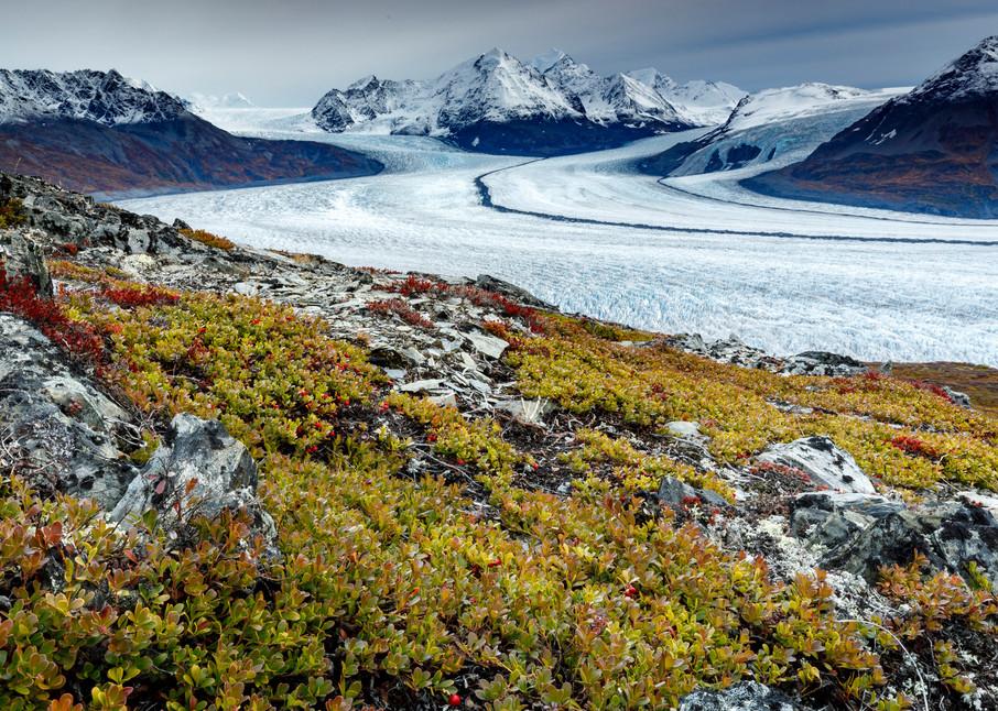 Knik Glacier Stripes