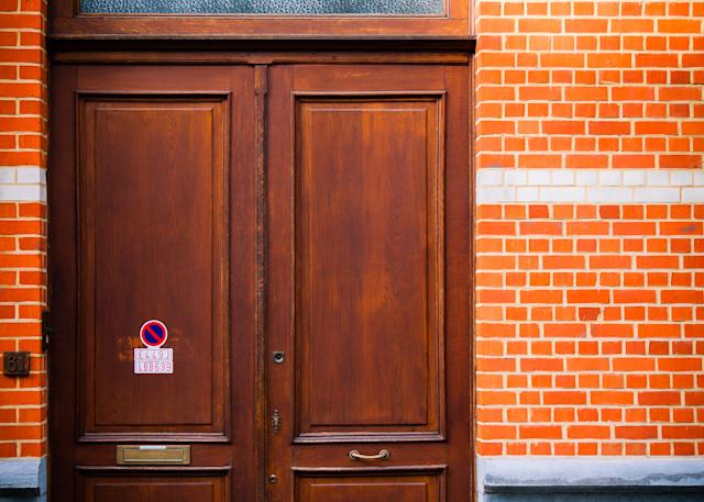 Doors of Ixelles No. 8, Brussels, Belgium 2018