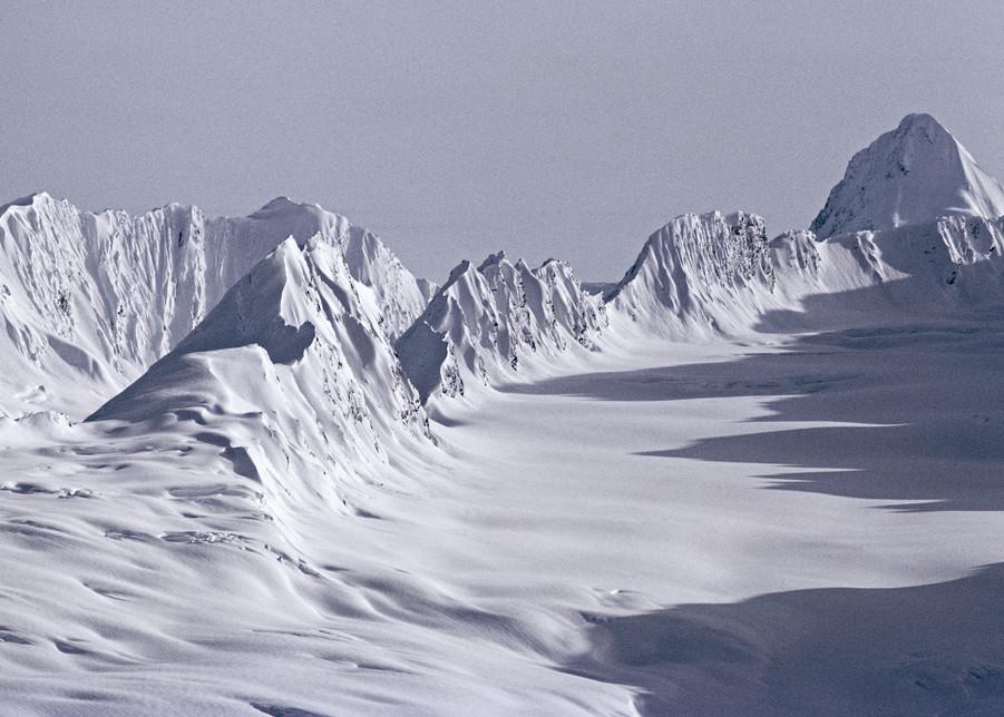 The Books, Chugach Range, Thompson Pass, Alaska