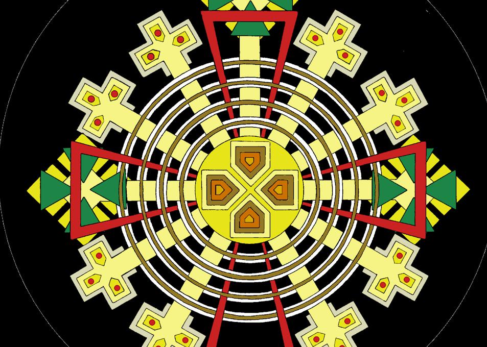 True Cross W Circle Art | Anonymous Art Studios
