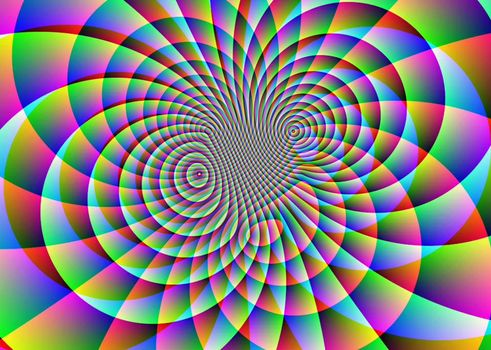 Psychedelic Motion I Art | Between Art and Science