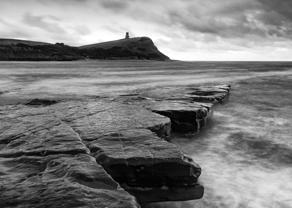 Clavel Tower At Kimmeridge Art | Roy Fraser Photographer