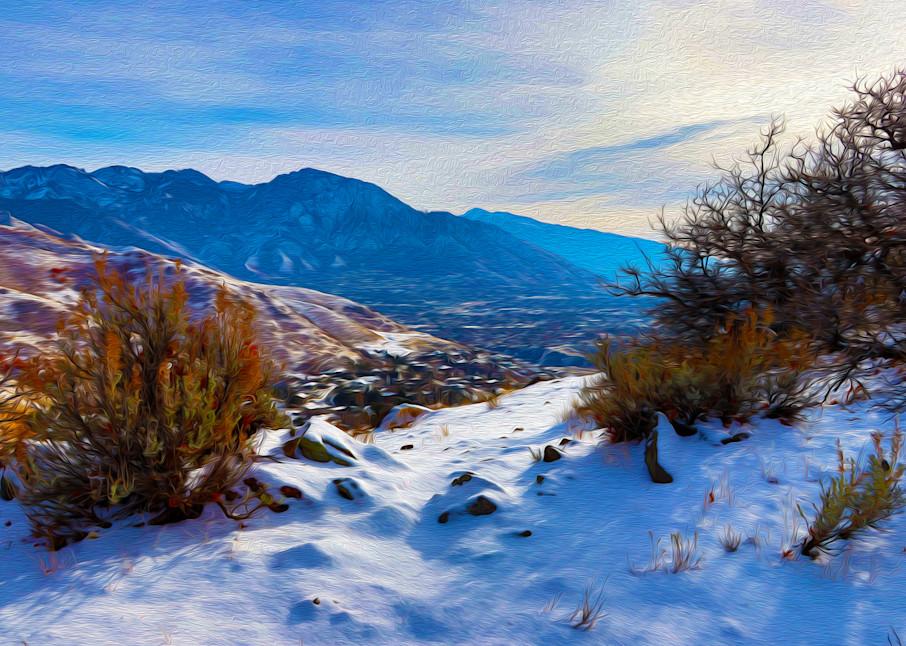 Winter In The Wasatch Art | Oz Fine Art Studio