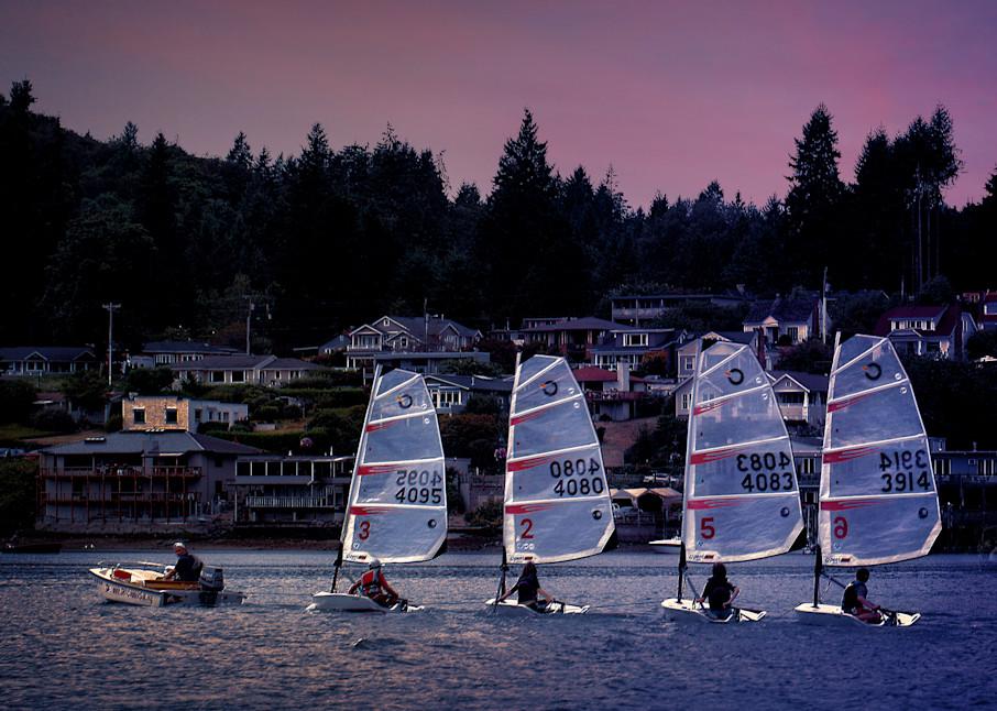 Day Sailing Art | Light Pixie Studio