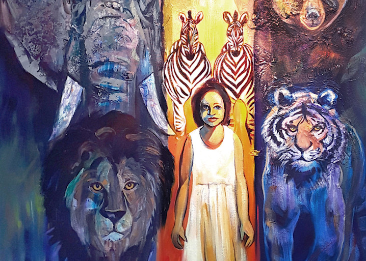 Led By A Child Art   Art Impact® International Inc