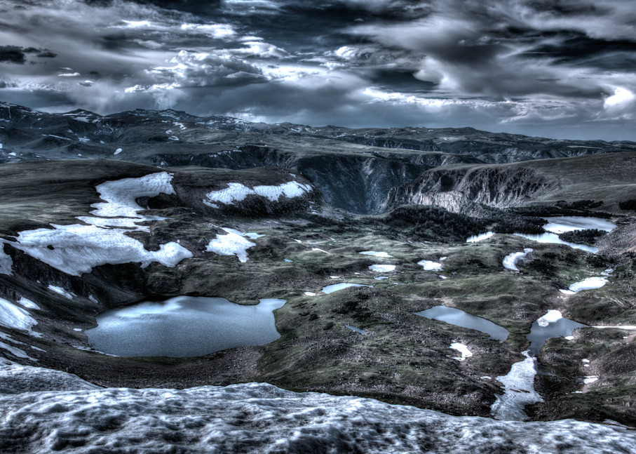 Craters Of My Mind Photography Art | Monty Orr Photography