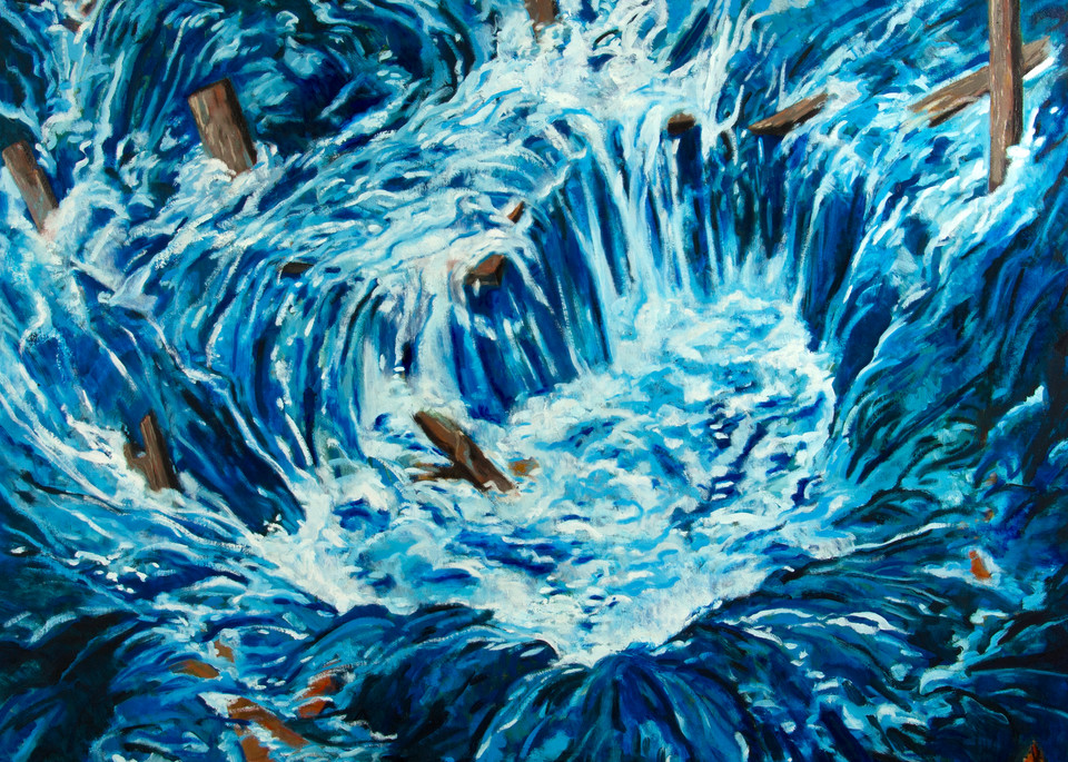 The Flood  Art | Jono Wright Art