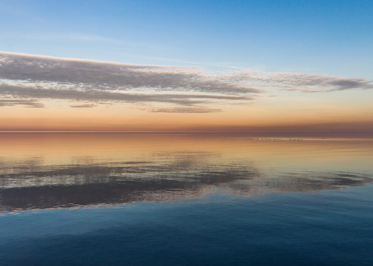 Clouds Reflected Photography Art | Ted Glasoe, Artist