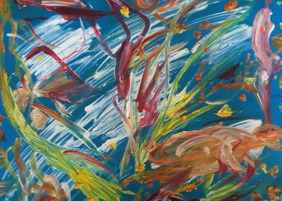 The Deep Ocean Art   artecolombianobyberenice
