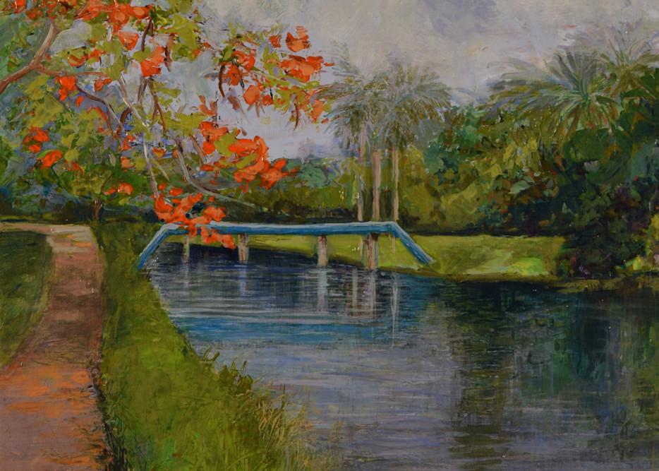 Flamingo Gardens 2 Art   Romana Artistry