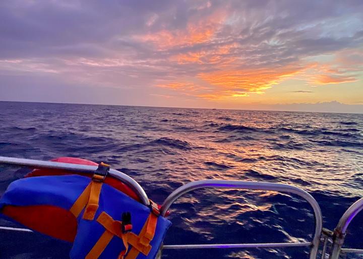 Sunset Sail Kona Style Photography Art   Visionary Adventures, LLC