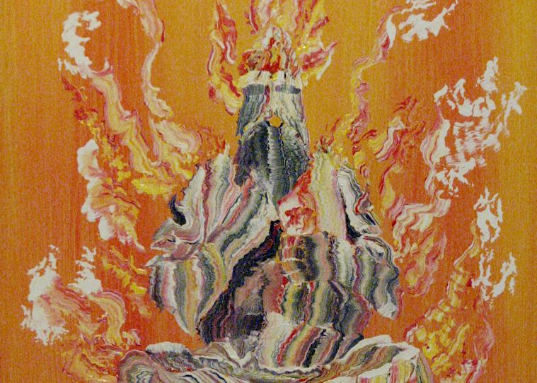 Burning Afghani  Art | treshamgregg - spiritart