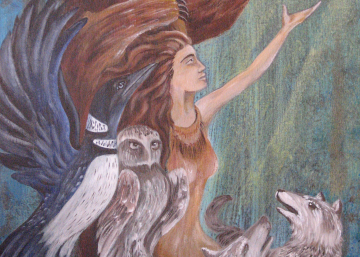 Forest Friends Art | treshamgregg - spiritart