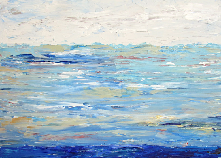 Feeling Blue Art | Linda Sacketti