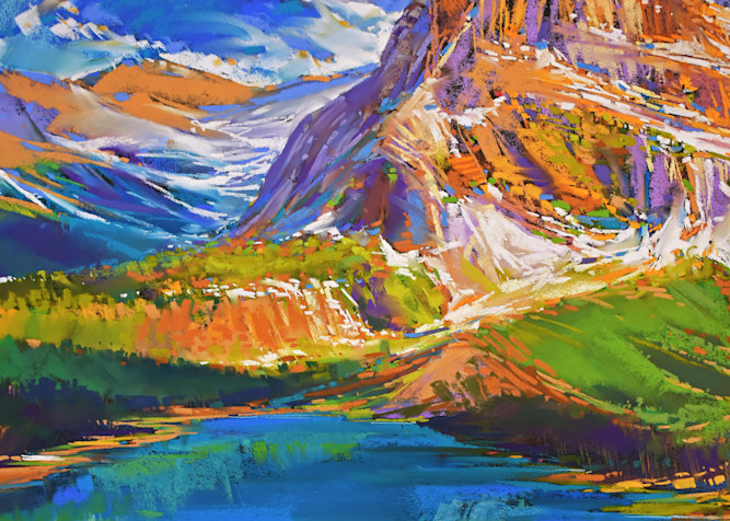 Hidden Lake View Art | Michael Mckee Gallery Inc.