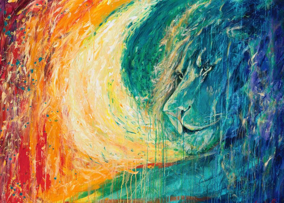 """The Lion's Call"" Art   glimpsesofglory"
