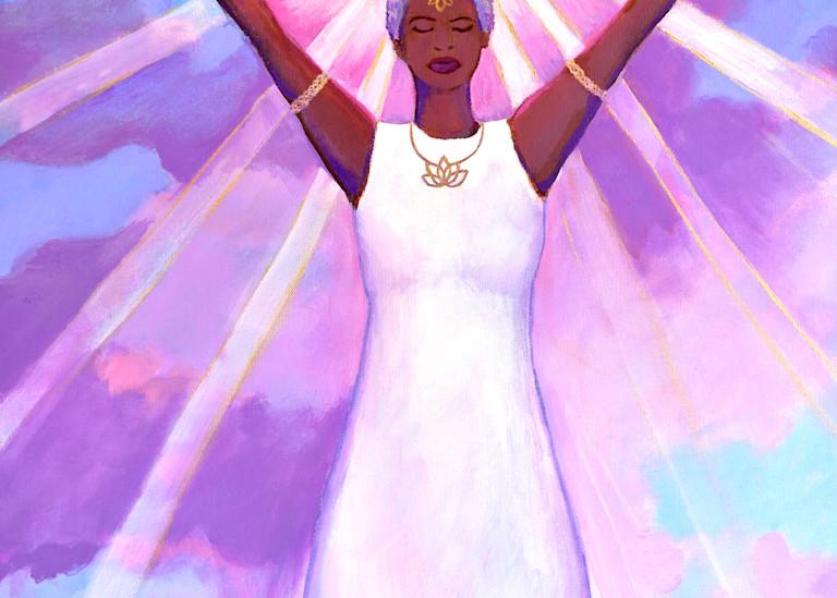 Divine Queen, art by Jenny Hahn
