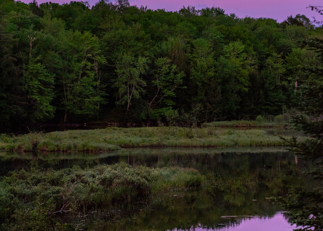 Moose River Moon Photography Art | Kurt Gardner Photogarphy Gallery