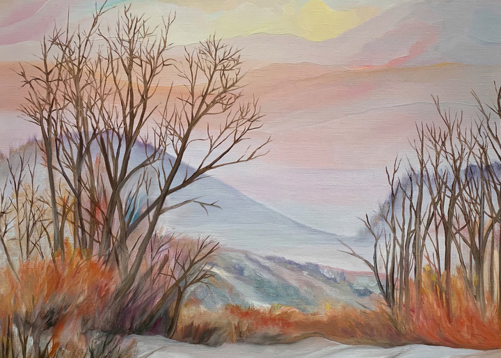 """Hope Springs Eternal"" Landscape Oil Painting by Emily Gilman Beezley"