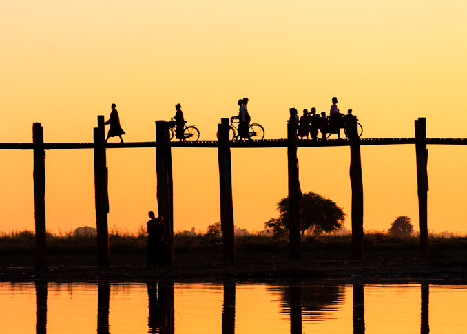 U Bein Bridge 2 Photography Art | Felice Willat Photography