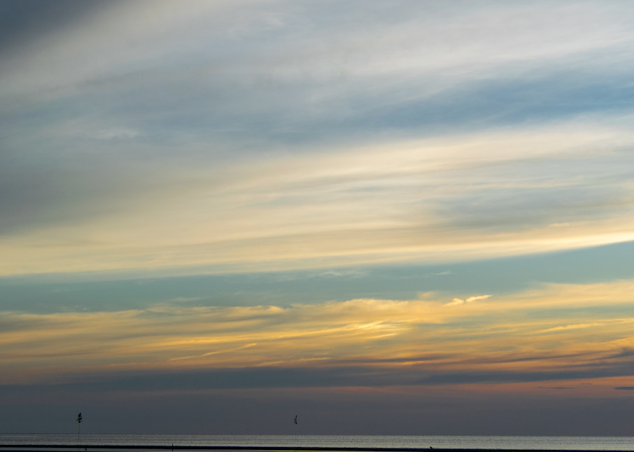 Pastel Sky At Rock Harbor Photography Art   The Colors of Chatham