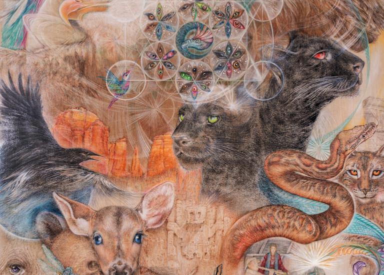 Sacred Journey Art | Joan Marie Art