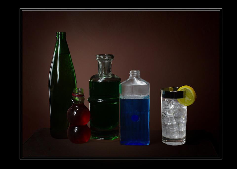 A Fine Art Photograph of a Romantic Drink by Michael Pucciarelli