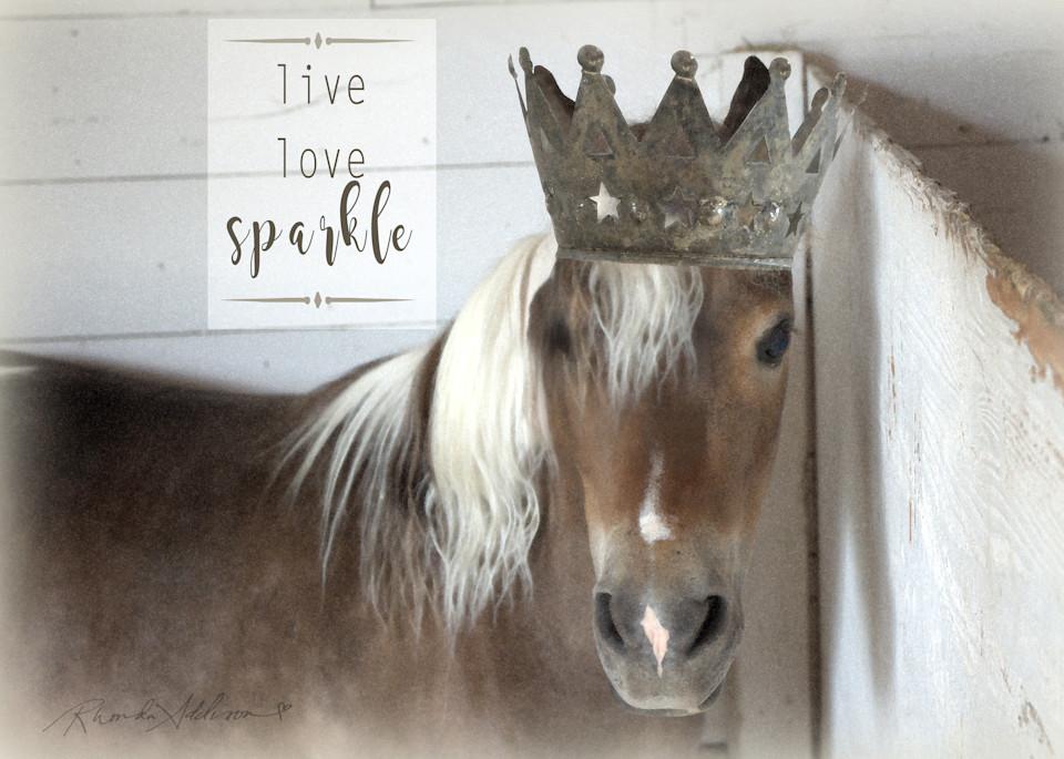PONY CROWNED live, love, sparkle Art