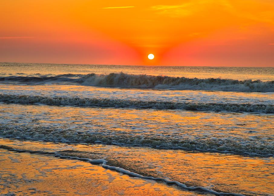 Orangeific Sunrise Photography Art   Willard R Smith Photography