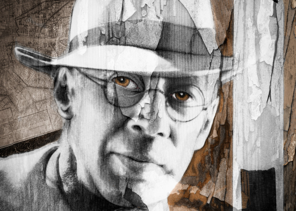 Young Henry Miller No. 1, 2019 by artist Carolyn A. Beegan