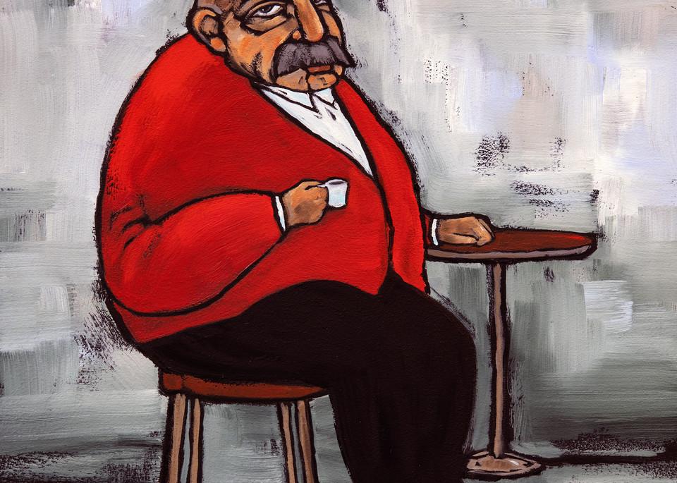 Zio Gianna fa una pause caffe