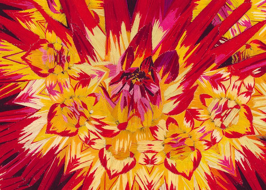 Blast Of Color 12 X18 Final Web Art | David Poyant Paintings